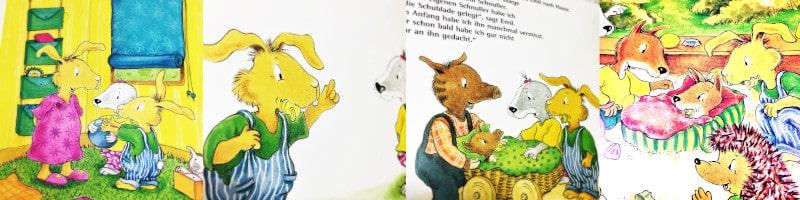 Moritz Moppelpo braucht keinen Schnuller mehr Bildershow
